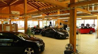 Inzahlungnahme von Gebrauchtfahrzeug - Autohaus Holzmann innen